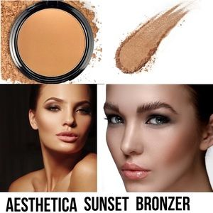 Aesthetica Sunset Bronzer. Brand New in Box